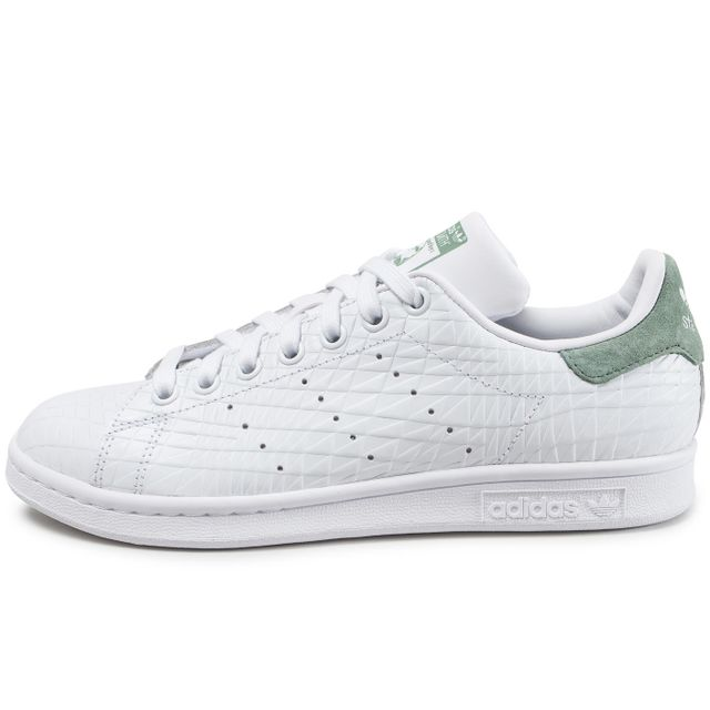 Adidas originals - Stan Smith Triangle Trace Blanche Et Verte