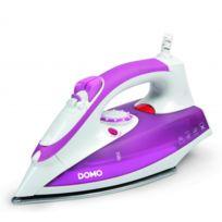 Domo - Fer à repasser vapeur 2000 W - semelle en acier inoxydable - Fonction auto-nettoyage