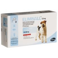 Zoetis - Pack 6 X Eliminall Chiens 10-20 Kg 134 Mg 3 Pipetes