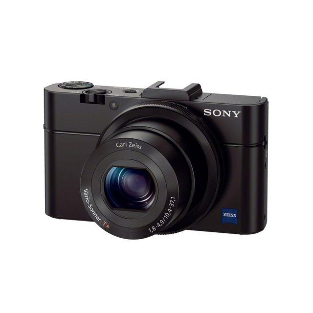 SONY - Appareil photo compact - DSC RX100 Noir