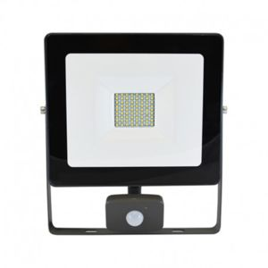 visionel projecteur exterieur led avec d tecteur 50w. Black Bedroom Furniture Sets. Home Design Ideas