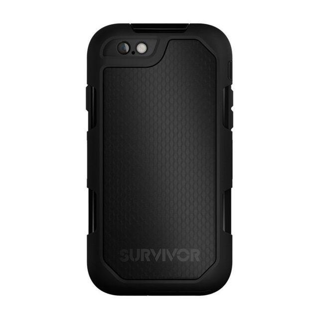 Griffin - Griffin Coque Griffin Survivor Summit noir pour iPhone 6 et iPhone  6S 1f67c10fbe13