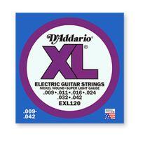 D'Addario - Exl120 - 9/42