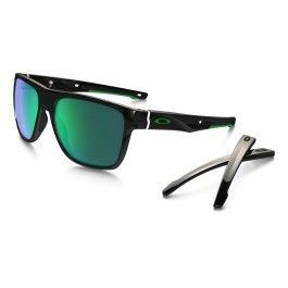 Oakley - Lunettes Oakley Crossrange Xl noir brillant avec verres Jade  Iridium e2ae48859c9d
