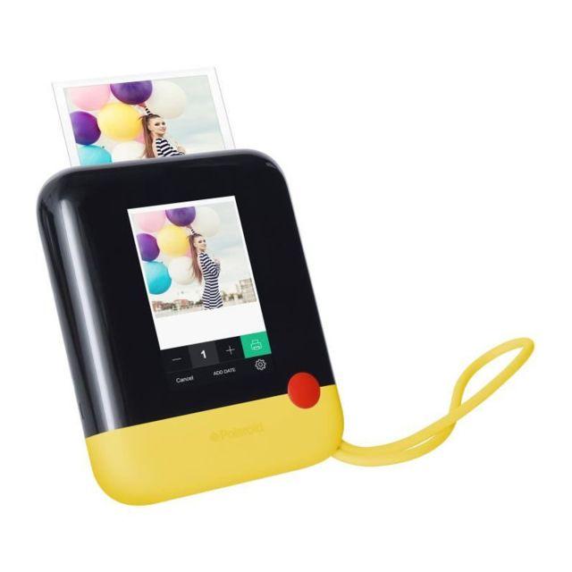 polaroid polpop1y appareil photo num rique instantan jaune pas cher achat vente appareil. Black Bedroom Furniture Sets. Home Design Ideas