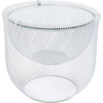 Table Basse Grid Argentée 55cm Kare Design