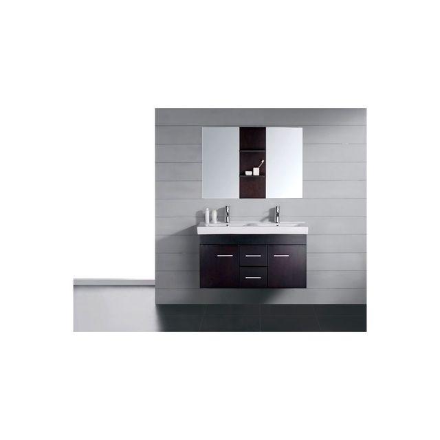 Rocambolesk - Magnifique meuble salle de bain chêne complet maori ...