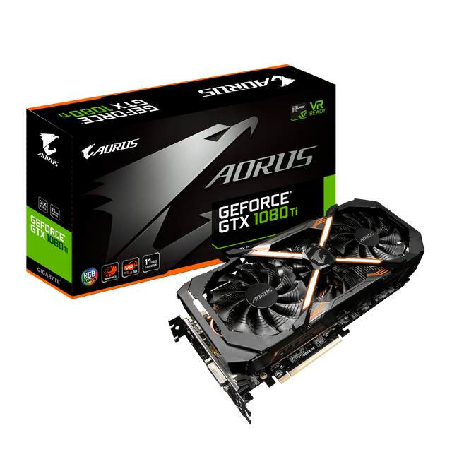 AORUS Carte Graphqiue GeForce GTX 1080 Ti 11G