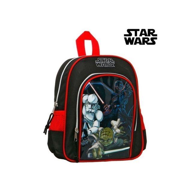 ad74b8cf83 Star Wars - Sac à dos enfant 93279 Noir Rouge - pas cher Achat / Vente  Cartables, sacs à dos primaire - RueDuCommerce
