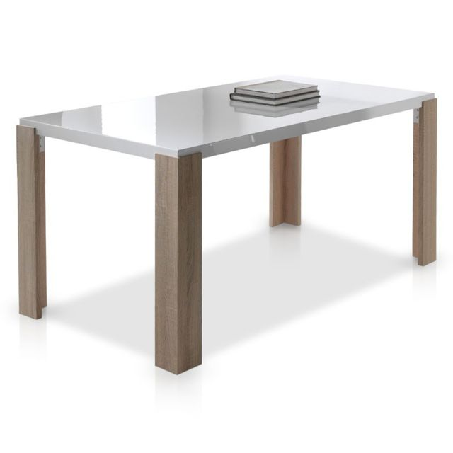 Tousmesmeubles Table de repas - Brali