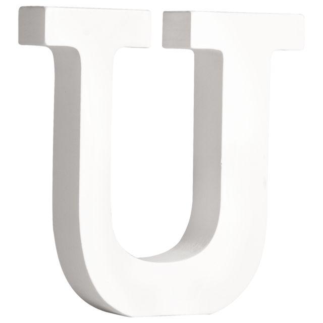 Chiffre 1 MDF Blanc 11 cm Rayher