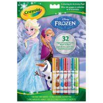 Crayola - Coloriages + autres activités : La Reine des Neiges Frozen