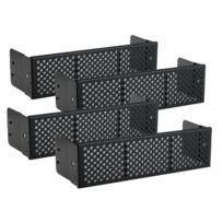 Lian Li - Façade Grille + Filtre 5,25'' - 4 Pieces - Aluminium - Bz-501B - Noir