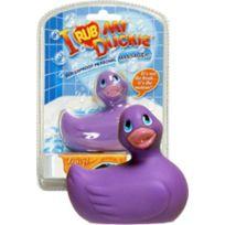 Big Teaze Toys - Petit Canard Vibrant - Mauve - Version mini 8cm - format voyage