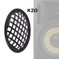 """Itc - Pack de 20 grilles de protection pour haut-parleurs 6,5""""/16,5cm"""