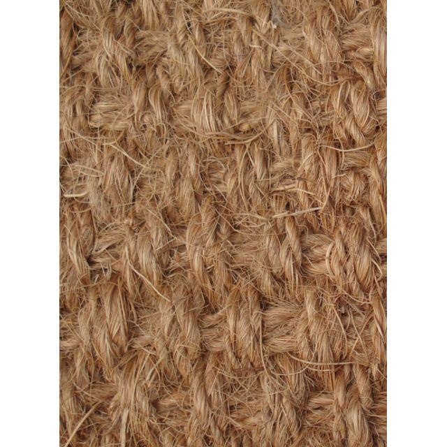 UN AMOUR DE TAPIS - Tapis PANAMA COCO Tapis Naturel par Unamourdetapis marron 80 x 160 cm