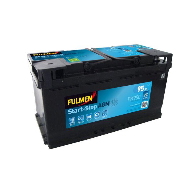 fulmen batterie agm fk950 pas cher achat vente batteries rueducommerce. Black Bedroom Furniture Sets. Home Design Ideas