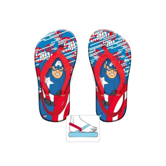 Avengers - Tongs bébé garçon avec élastique Disney - pas cher Achat   Vente  Sandales et tongs enfant - RueDuCommerce 788ff38e56b5