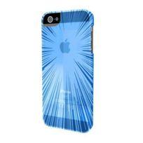 Muvit - Coque Minigel Flexy Speedlight Bleu Iphone 5/5s/se + Film