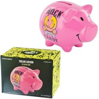 Promobo - Tirelire Cochon Licence Smiley World Rock Candy Collection Luxe