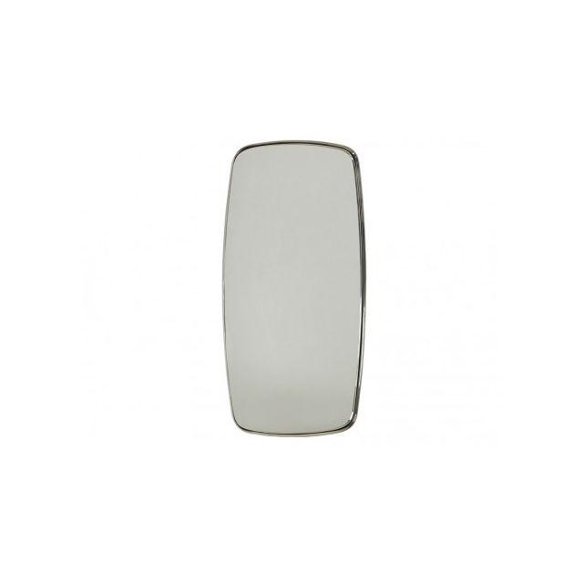 Marque Generique Miroir Jesod - L45 x H92 cm - Métal - Argent
