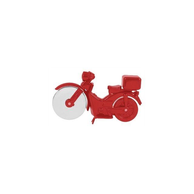 Roulette à pizza - Moto - Rouge