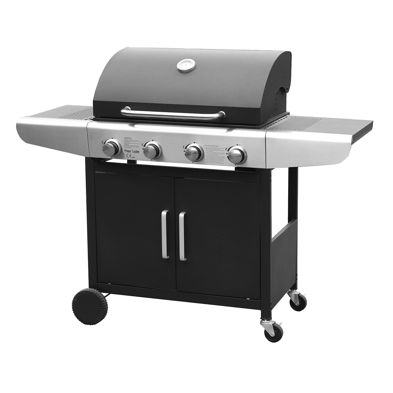 Barbecue au gaz KENTUCKY - 4 brûleurs avec thermomètre