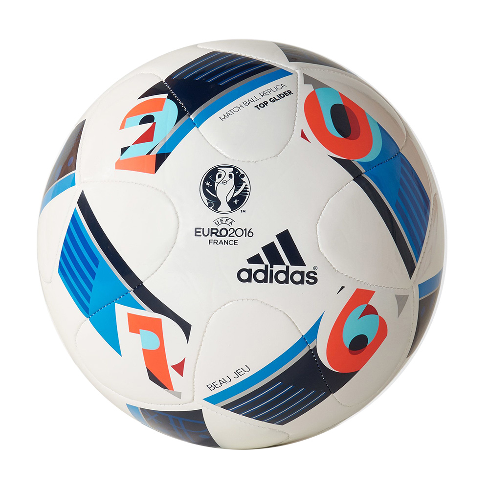 Euro 2016 Topglider blanc, accessoires mixte