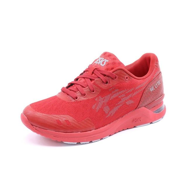 5dbdf3a459922 Asics - Chaussures Gel Lyte Evo Nt Rouge Homme Asics Multicouleur 41.5