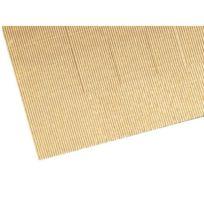 Rayher - Carton ondulé Doré métallique double-face 50x70cm