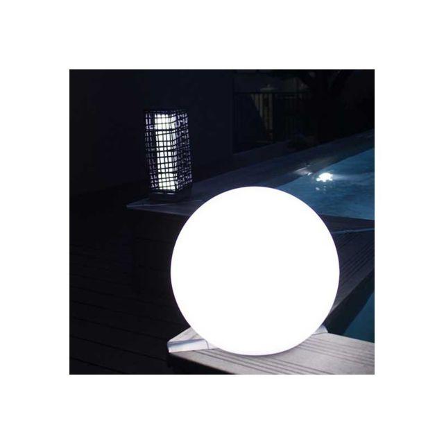 Watt&Home Eclairage terrasse solaire lampe boule Led Girandole 38