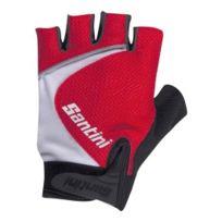 Santini - Gants Studio Summer Gloves noir rouge