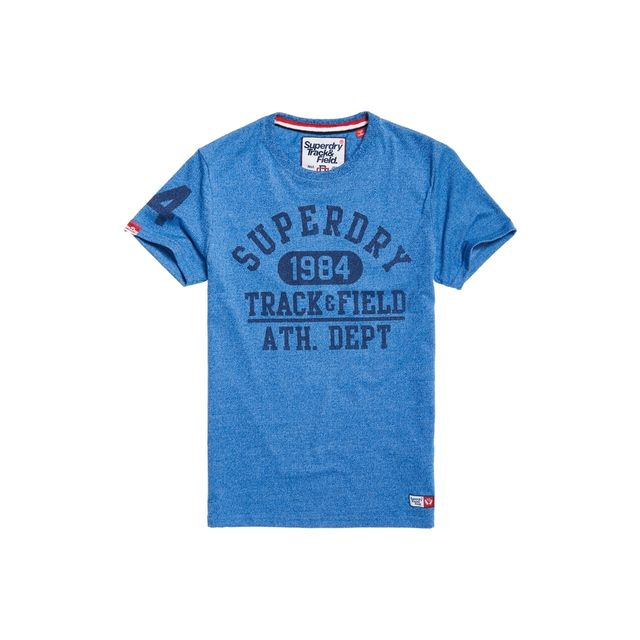superdry trackster 23 bleu