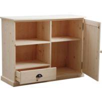 Meuble en bois brut a peindre achat meuble en bois brut for Peindre du bois brut