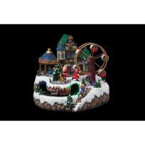 Feerie Christmas - Village de Noël Grande roue - Animé