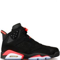 Jordan - Nike Air 6 Retro Black Infrared 384664-023infrared, 6, noir black infrared, air