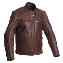 Segura - blouson moto Horner cuir homme vintage toutes saisons marron Scb1183 3XL