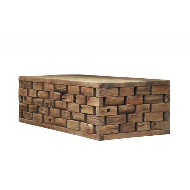Meubletmoi Table basse design - Collection Chalet