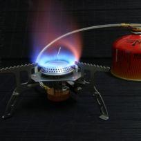 Wewoo - Outil de camping en plein air Camp cuisinière Bbq cuisson Portable à gaz Split four à