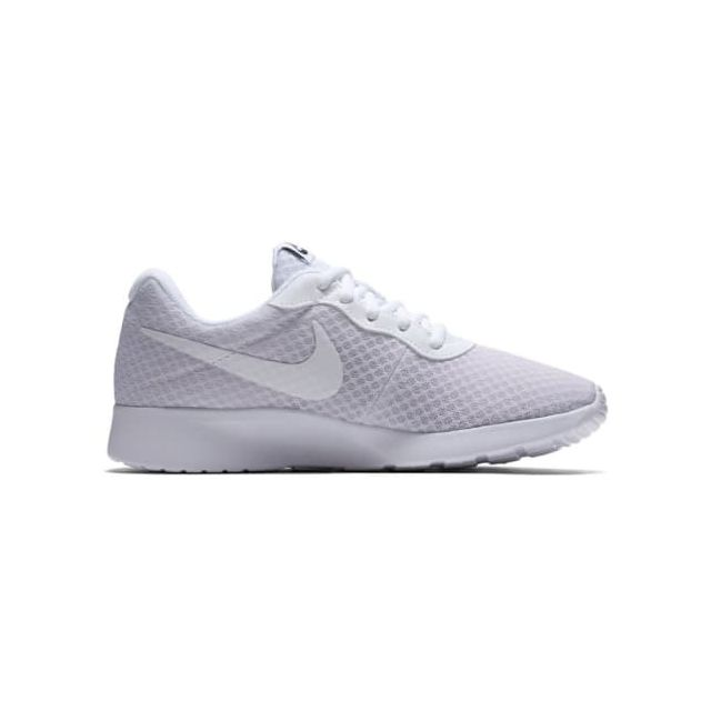 reputable site 739f9 73367 Nike - Chaussures Tanjun blanc femme - pas cher Achat   Vente Chaussures  fitness - RueDuCommerce