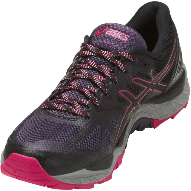 86bfbefa0b0495 Asics - Gel-Fujitrabuco 6 G-tx - Chaussures de running - violet/noir  Multicolore - 37 - pas cher Achat / Vente Chaussures running - RueDuCommerce