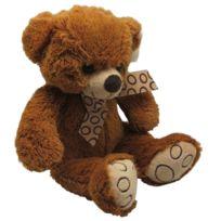 AUBRY GASPARD - Peluche ours en acrylique brun