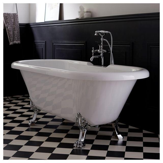 baignoire ancienne sur pieds interesting salle dueau rtro c with baignoire ancienne sur pieds. Black Bedroom Furniture Sets. Home Design Ideas