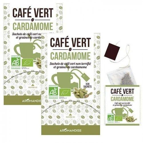 Autre Café vert Cardamome - 40 sachets