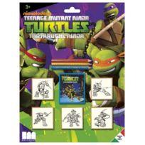 Multiprint - 5884 - Tampons À Imprimer - Blister De 5 Tampons - Tortues Ninja