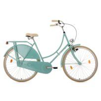 KS CYCLING - Vélo hollandais 28'' Tussaud menthe singlespeed TC 54 cm