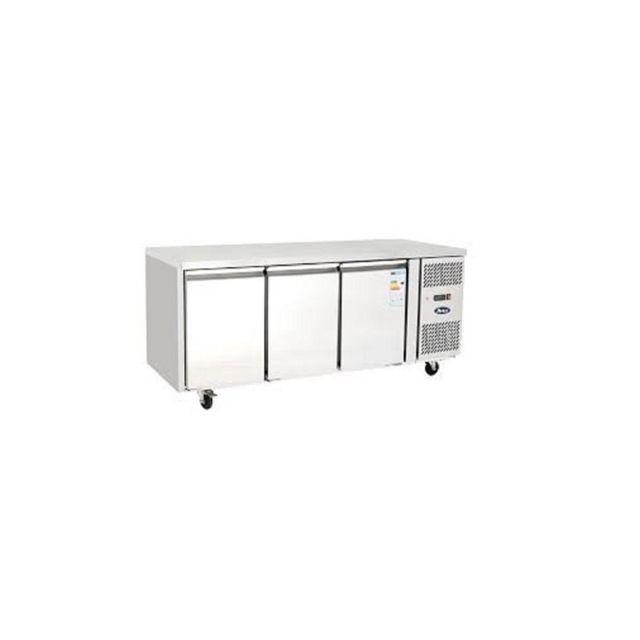 Atosa Table Réfrigérée Négative 3 portes - Profondeur 700 700