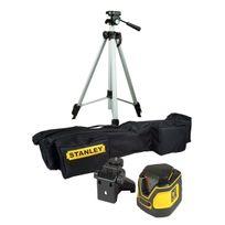 Stanley - Sll360 Stht1-77137 Kit Niveau Laser automatique à 360° + Trépied sacoche