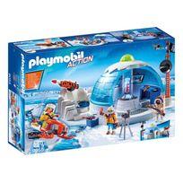 Playmobil - 9055 Sport et Action - Quartier général des explorateurs polaires