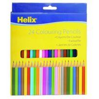 Helix - 24X -7 Inch Standard Crayons De Couleur Pn4010